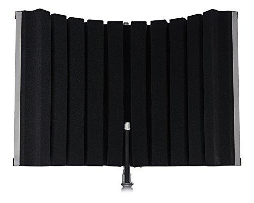 Marantz Professional Sound Shield Compact - portabler faltbarer Reflexionsfilter/ Schallschutz/ Pop-Filter/ Akustik Isolierung für jeden Kondensatormikrofon, zur Montage an Ständer
