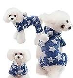 ODOKEI Ropa para Perros Cachorro Perro Mascota Ropa de Mascotas Sudadera Abrigo Cachorro Ropa para Perros Pequeños