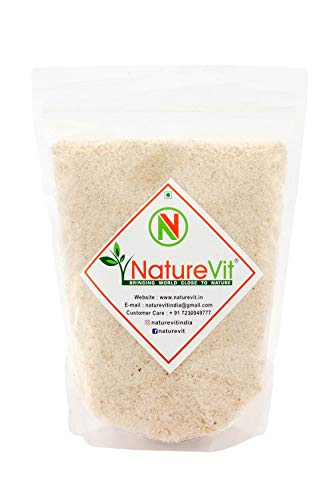 NatureVit Psyllium Husk, 400g [Sat Isabgol] [Fiber Supplement, Perfect for Keto Bread and Gluten Free Baking]
