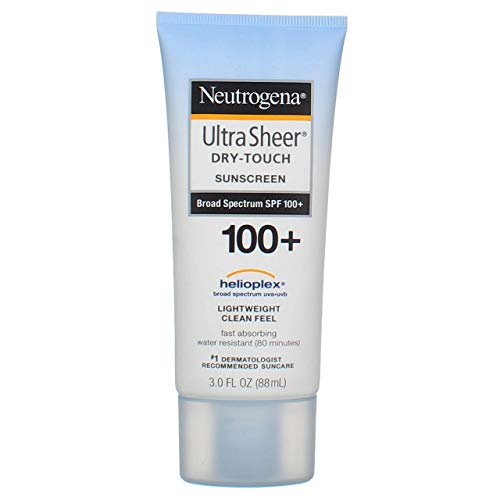 Neutrogena Ultra Sheer Dry-Touch Sunscreen, SPF 100, 3 Ounces (Pack of 2) by Neutrogena