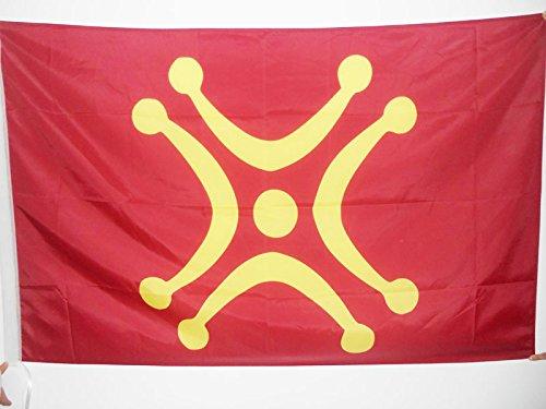 AZ FLAG Bandera de CANTABRIA INDEPENDENTISTA 150x90cm para Palo - Bandera REGIONALISMO CÁNTABRO - CANTABRISMO 90 x 150 cm