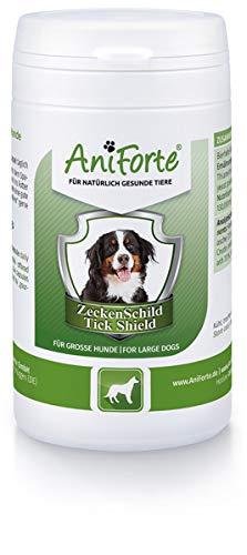 AniForte Zeckenschutz für Hunde (Große Hunde 35 bis 50kg) 60 Kapseln - Natürlicher Zeckenschild durch Hautbarriere, Abwehr gegen Zecken und Parasiten, Anti-Zecken Schutz, Zeckenabwehr
