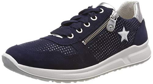 Superfit Mädchen Merida Sneaker, Blau (Blau 80), 25 EU