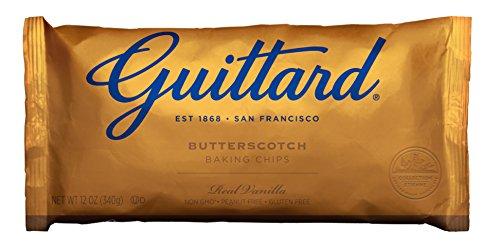 Guittard Butterscotch Chips, 12-Ounce (Pack of 6)