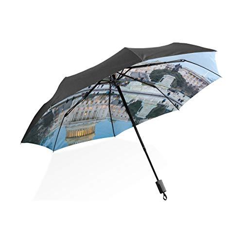Paraguas adulto para mujeres Edificio del Capitolio en la noche en el...