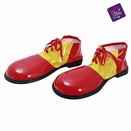 viving Kostüme viving costumes202525 Clown Schuhe (One Size)