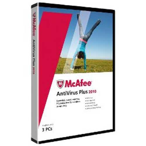 McAfee Antivirus Plus 2010 (3 postes, 1 an) - Mise à jour