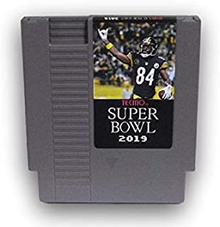 Tecmo Super Bowl 2019 Version Cartridge Video Game for NES
