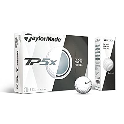 TaylorMade TP5X Prior Generation Golf Balls (One Dozen)
