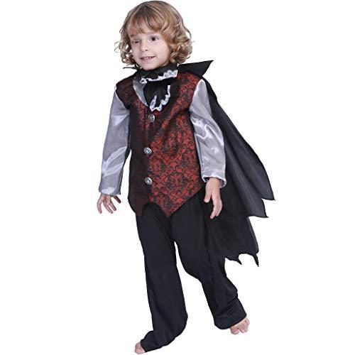 EraSpooky Disfraz de Vampiro Traje de Cosplay Fiesta de Halloween
