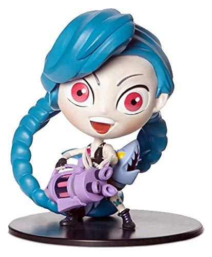 ZJSXIA para la Escultura League of Legends, Runaway Loli/Jinx, Modelo de Escritorio Genial Liga de Leyendas