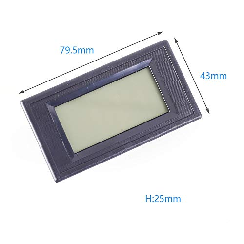 SHAOXI Präzision AC Frequenz Tester Modul 50Hz 60Hz LCD Frequenz-Anzeigeschirm AC 110V 220V 380V Stabiler und zuverlässiger Leistung