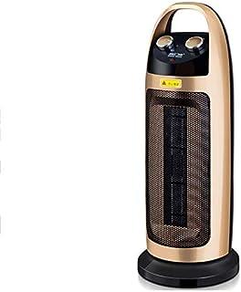 Calentador eléctrico Espacio torre cerámica para el hogar, tres configuraciones potencia: agitador cuerpo, con termostato ajustable, elemento calefactor para PC y protección contra sobrecalentamiento