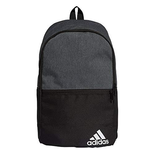 adidas Daily BP II Sports Backpack - Dark Grey Heather/Black/White, NS