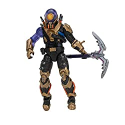 The Cyclo 4-inch action figure has 25+ points of articulation and highly detailed decoration inspired by one of the most popular Outfits from Epic Games' Fortnite. Cyclo is equipped with the Moonrise Harvesting Tool, ready for action. Official Licens...