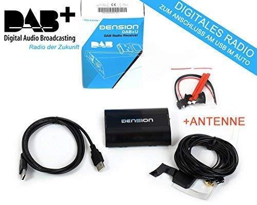 ZEMEX Dension DBU3GEN DAB+ nachrüstbarer USB Radio Empfänger +ANTENNE