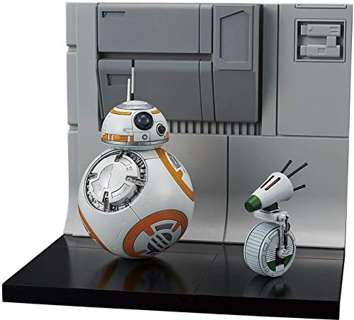 BANDAI Star Wars The Rise of Skywalker BB-8 & D-0 Diorama 1/12 Scale Model Kit