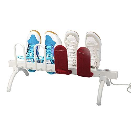MEETGG Elektrisch Schuhtrockner, Intelligent Thermostat Schuhtrockner, Handschuh Wäscheständer Schuh Boot Trockner