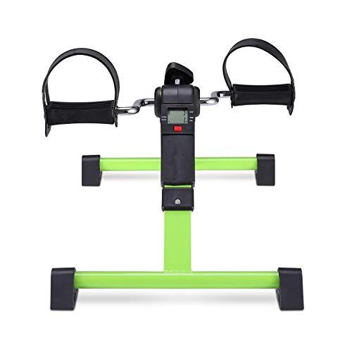 SISHUINIANHUA Mini Heimtrainer Fahrrad-Maschine Sitz Exerciser Arm-Bein-Untertisch