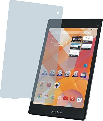 4ProTec I Medion LIFETAB S8311 MD 98983 (2 Stück) Premium Bildschirmschutzfolie Displayschutzfolie ANTIREFLEX Schutzhülle Bildschirmschutz Bildschirmfolie Folie