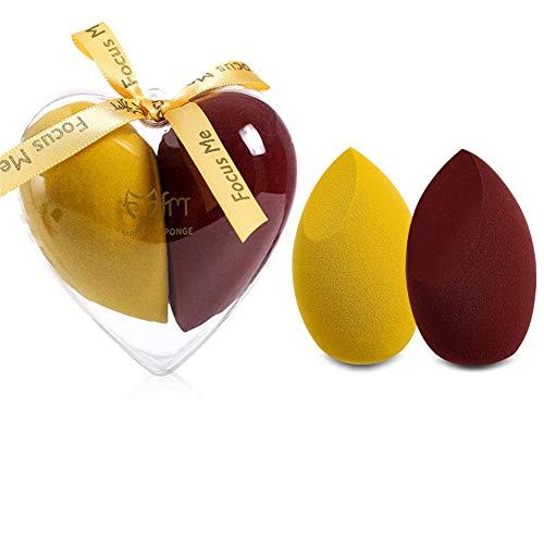 Makeup Sponge Set Blender Beauty Foundation Mixing Sponge Innocent Liquid Cream And Powder Multicolor Makeup Sponge
