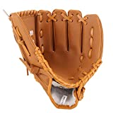 1pc Baseball Glove Teeball Glove with Soft Solid Pu Leather Thickening Pitcher Softball Gloves for Kids Fit...