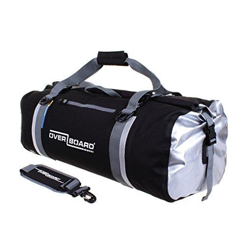 OverBoard Waterproof Classic Duffel Bag, Black, 130-Liter