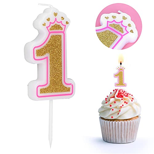 Wosune età 0-8 Candele, Candele per Torte Paraffina Multifunzionale per Feste, Matrimoni, Riunioni, Compleanni(1)
