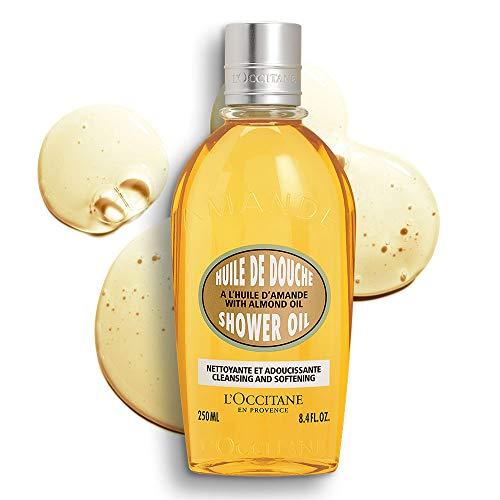 L´Occitane Amande Dusch Öl - Herren, 1er Pack (1 x 250 ml)