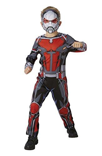 Marvel - Disfraz de Ant-Man para niños, infantil 7-8 años (Rubie's 640486-L) , color/modelo surtido