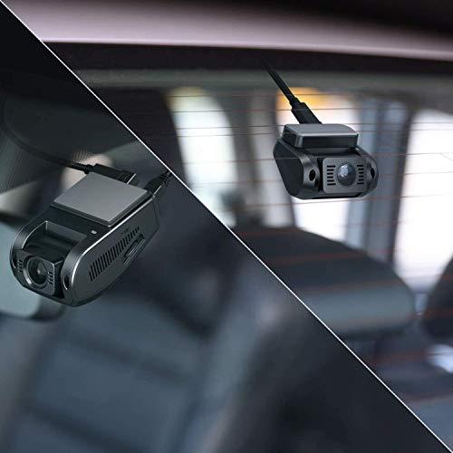 AUKEY 1080p Dashcam Vorne und Hinten【Verbesserter Sensor】Autokamera mit 170 Grad Weitwinkel, Superkondensator, WDR Nachtsicht Kamera für Auto mit G-Sensor, Bewegungserkennung, Loop-Aufnahme - 2