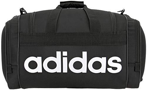 adidas Santiago - Bolsa de Deporte Unisex (Talla única), Color Negro y Blanco
