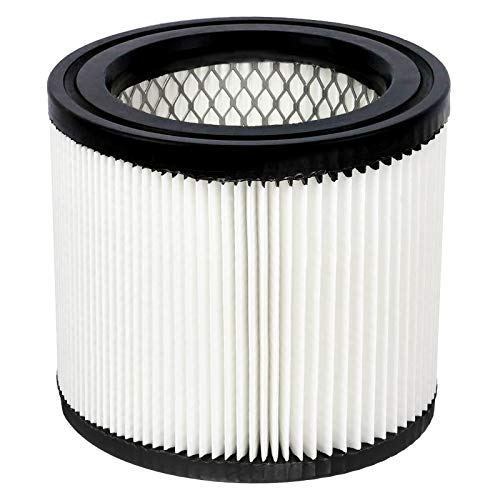 KingBra 1pcs HEPA Filter Replacement Wet/Dry Vacuum Cleaner Filter Compatible with Shop-Vac 90398, 903-98, 9039800, 903-98-00
