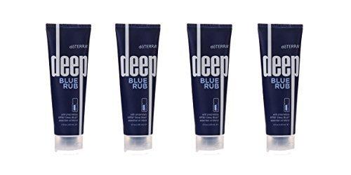 4-Pack doTERRA Deep Blue Rub 4 oz by doTERRA
