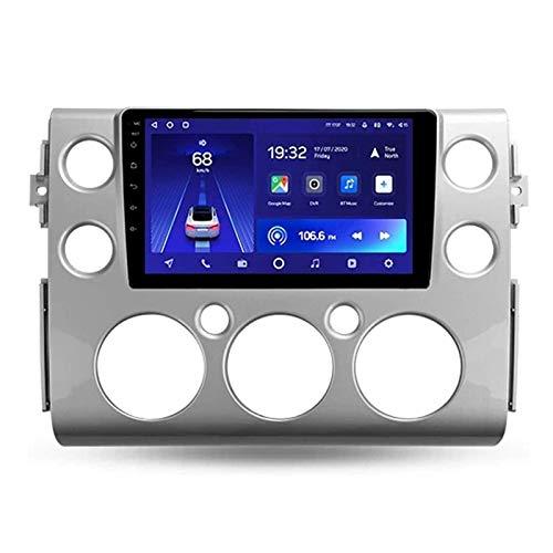WY-CAR Coche De Pantalla Táctil De 9 Pulgadas Reproductor Multimedia Multimedia Headunit para Toyota FJ Cruiser 2007-2018, GPS/FM/Bluetooth/Cámara De Vista Trasera/Controles De Volante