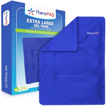 Product Image of the Large Ice Pack for Injuries by TheraPAQ - Reusable Hot & Cold Pack for Hips,...
