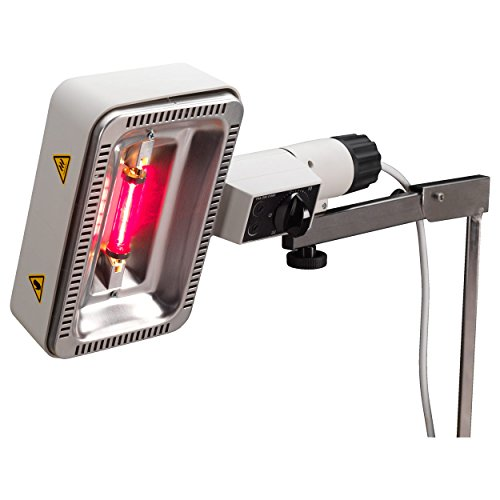 Rotlichtstrahler Sollux Kombi inkl. Rollstativ, tragbar