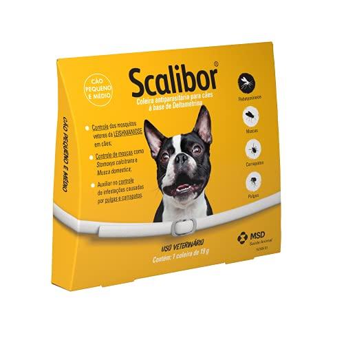 Scalibor Coleira Antiparasitária 48cm para Cães, Branco