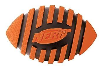 NERF Balle Spirale avec Sifflet pour Chien Taille M - Coleur aléatoire