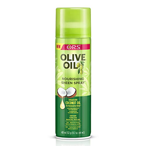 Olive Oil Ors Nourishing Sheen Spray, 11.7 oz (Pack of 2)
