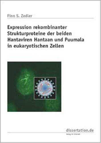 Expression rekombinanter Strukturproteine der beiden Hantaviren Hantaan und Puumala in eukaryotischen Zellen
