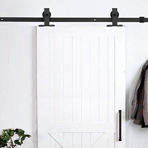 FOLOSAFENAR Herrajes para Puertas de Armario Resistentes al Desgaste Herrajes para Puertas corredizas fáciles de operar Diseño de Doble Capa de Acero al Carbono, para almacén