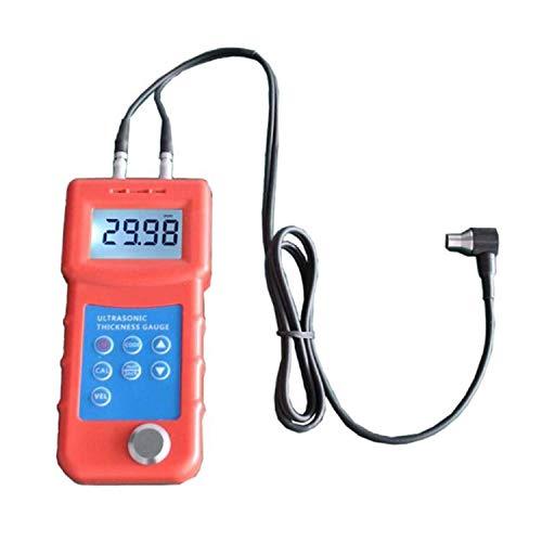 ZJN-JN Jauge d'épaisseur à ultrasons Plage de mesure de précision de 0,5 mm d'épaisseur métal testeur d'épaisseur à ultrasons Instrument UM6800 Indicateurs de mesure