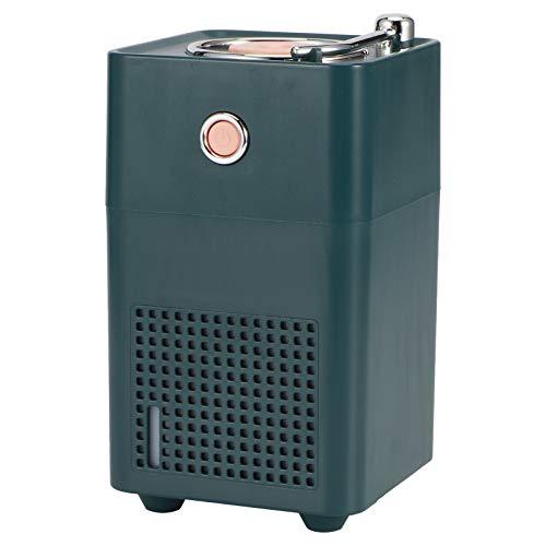 SZHWLKJ Verde 300 ml retro humidificador de aire portátil difusor de agua oficina hogar Mist Maker Fogger con luz LED USB carga