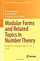 Modular Forms and Related Topics in Number Theory: Kozhikode, India, December 10–14, 2018 (Springer Proceedings in Mathematics & Statistics, 340)
