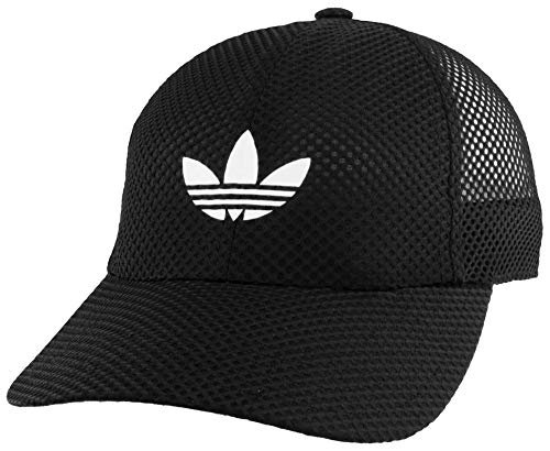 adidas Originals Damen Netz-Bügelkappe, Schwarz, Einheitsgröße