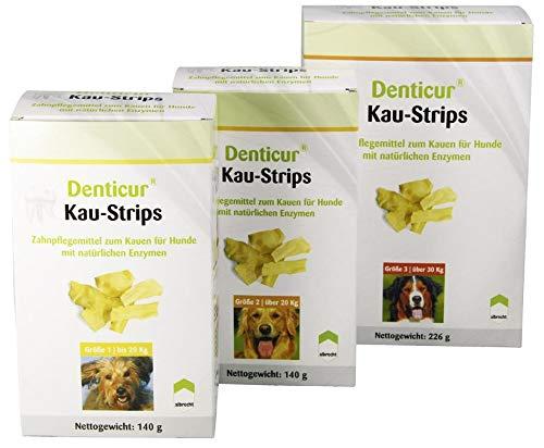 Albrecht Denticur Kaustrips Kauzahnpflege für Hunde, Option:Größe 2