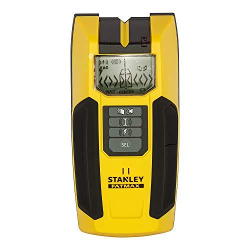 Stanley FatMax Materialdetektor S300 Ortungsgerät/Leitungssucher/Multifinder/Holzortung, LCD-Display, FMHT0-77407