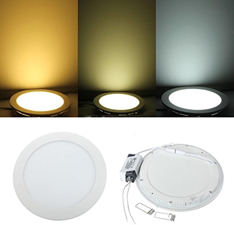 HTAIYN HTAIYN HTAIYN 18W Runde Decke Ultradünne Panel-LED-Lampe unten Licht 85-265V popular (Farbe   Warm Weiß) B07MYK4PX7 | Qualität Produkte  86c533