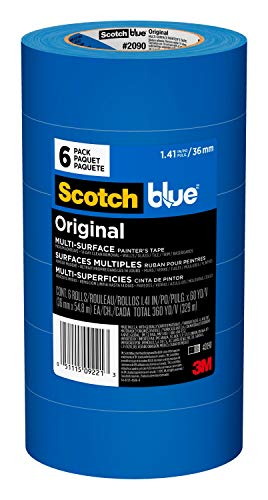 ScotchBlue Original Multi-Surface Painter's Tape, 1.41...